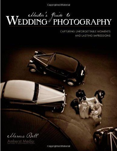 Master's Guide to Wedding Photography by Marcus Bell From the history of photography and how to shoot wedding portraits to creatingstylish albums and working with digital output, everything a wedding photographerneeds to know is included in this all-encompassing manual.Photographers are provided with a shooting guide that walks them through the weddingday and offers advice on a variety of topics - including integrating detail, capturingthe walk down the aisle, working in and out of doors…