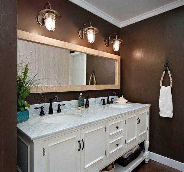 Small Beach Themed Bathrooms | Как выбрать правильное освещение для ...