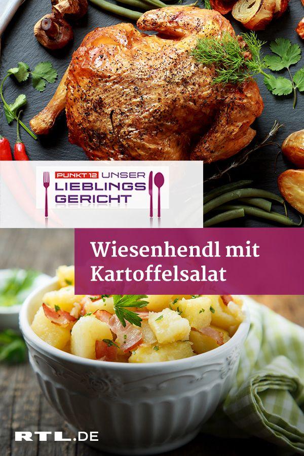 Wiesnhendl mit bayerischem Kartoffelsalat