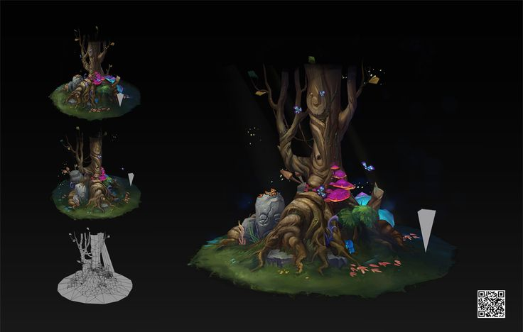 ArtStation - tree, zhang Wen bo