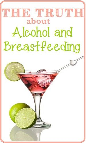 The Truth about Breastfeeding and Alcohol. I do my research. One beer is fine.anything more than that you have to wait an hr. If you're under the limit to drive you can feed your baby. Only about 5% of alcohol each beer will go into your milk.one beer is 5%. Common sense.