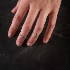 Sterling Silver Midi Rings from Bourbon and Boots $44.85 www.bourbonandboots.com