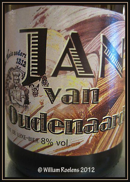 Jan van Oudenaarde - Brouwerij Slaapmutsje via Proefbrouwerij, melle,België. Eigen beoordeling: 7