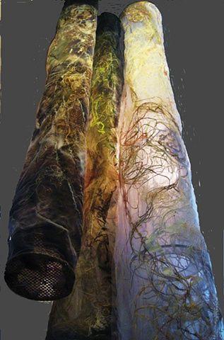 Ixchel Suárez Textile Artist - Installation for Laurentian Forests