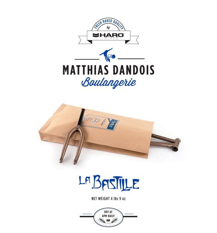 Haro Bikes - Matthias Dandois - Paris - Destinations