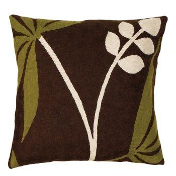 Sprouting Leaf > Contemporary Cushions > Cushions > Home > Zaida UK Ltd