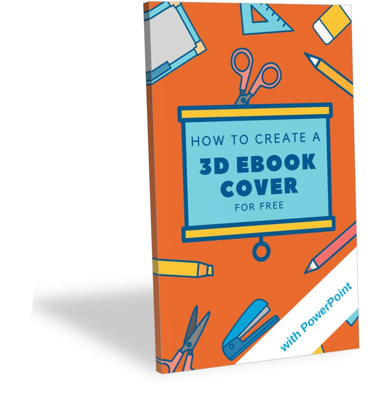 How To Create a 3D Ebook Cover with PowerPoint   - Gerlinde Online