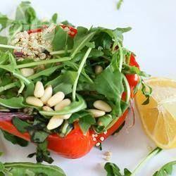 Salade van geroosterde groenten en quinoa @ allrecipes.nl