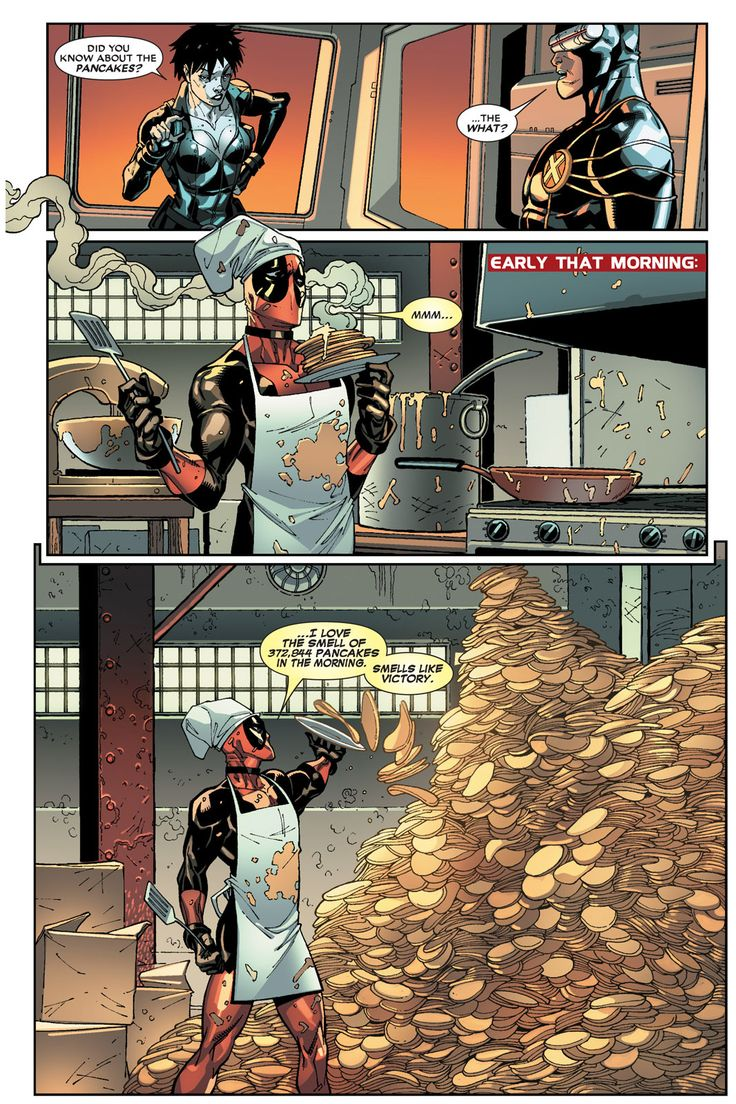 Deadpool And Pancakes 1