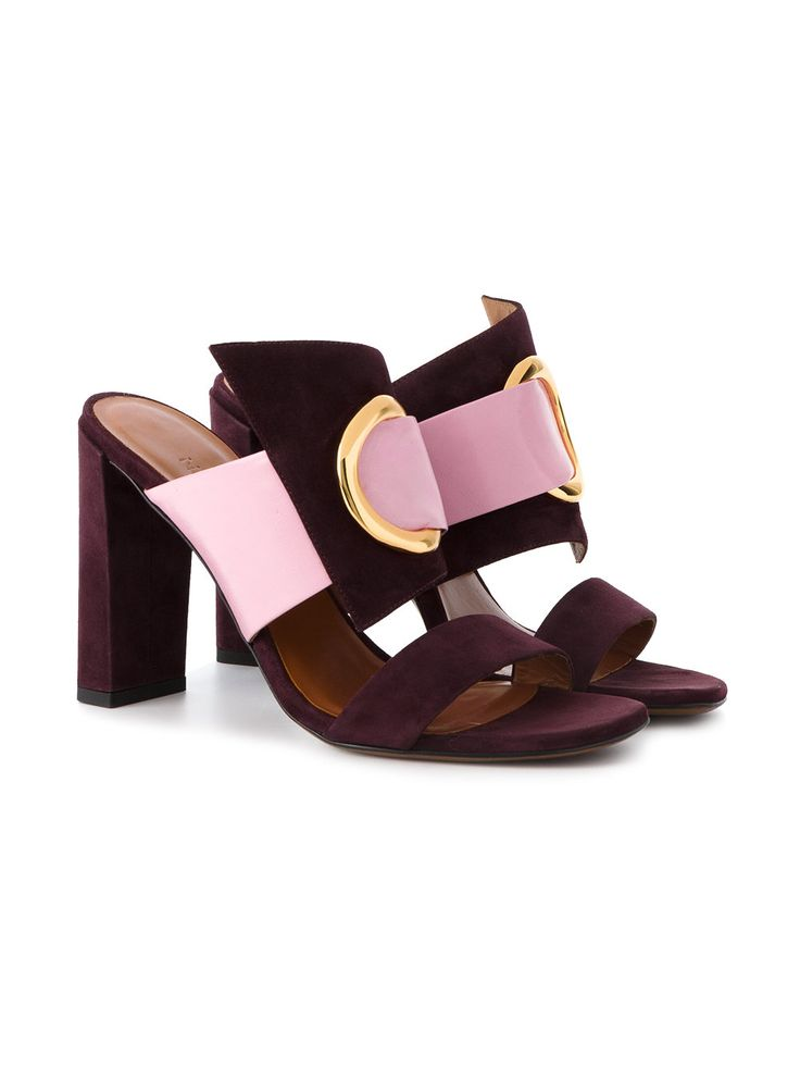 Neous open toe ring sandals