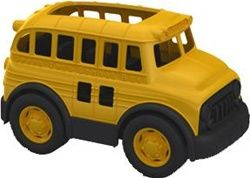 School Bus by Green Toys ~ made from recycled milk jugs, $32