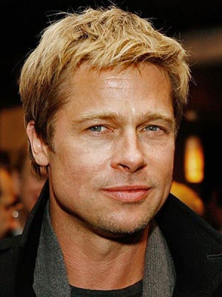 Brad Pitt, much better than the way he looks since joining up with Angelina.