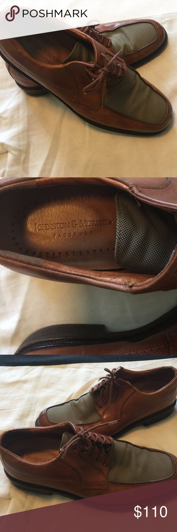 Men's 10 1/2 Johnson and Murphy shoes Men's 10 1/2 Johnson and Murphy casual shoes excellent condition and extremely comfortable. Johnson and Murphy Shoes Oxfords & Derbys