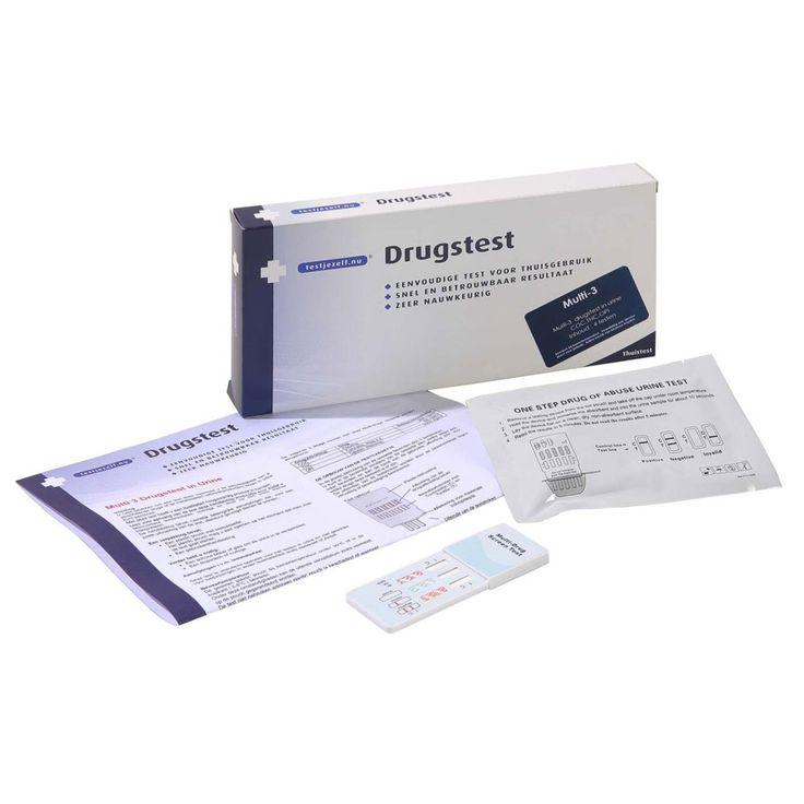 Testjezelf.nu Multi drugstesten 3 in urine