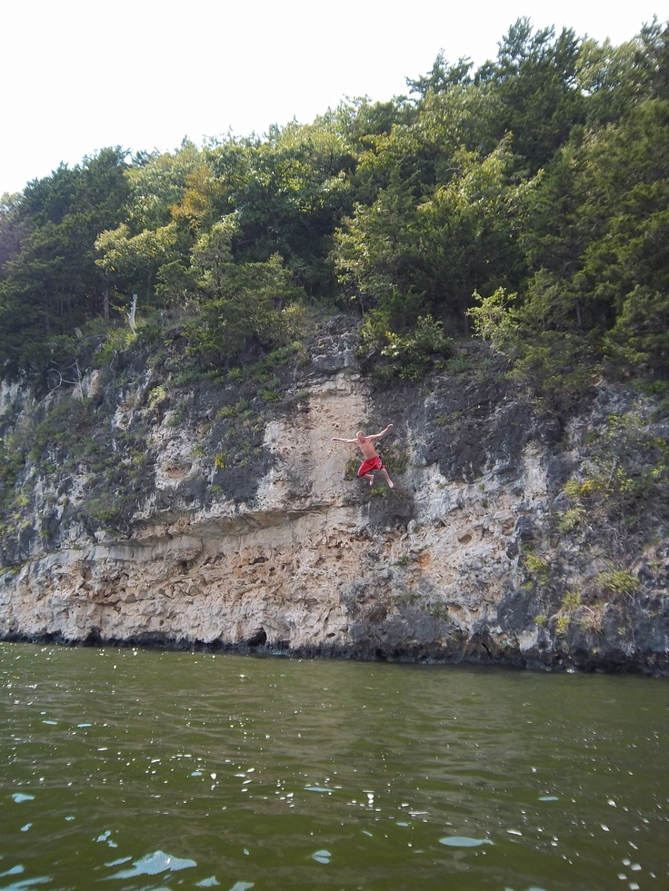 Lake Of The Ozarks Bluff Jumping Road Tripping