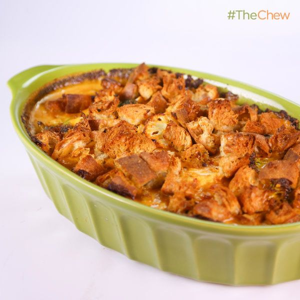 Clinton Kelly's Spicy Broccoli and Cauliflower Gratin #TheChew