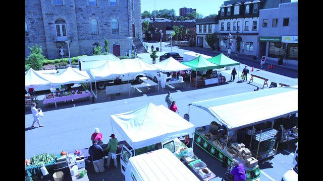Cambridge Farmer's Market 09/14/13. A time lapse from set-up to take-down of the Farmer's Market in Cambridge, Ontario. Shot on Saturday Sep...