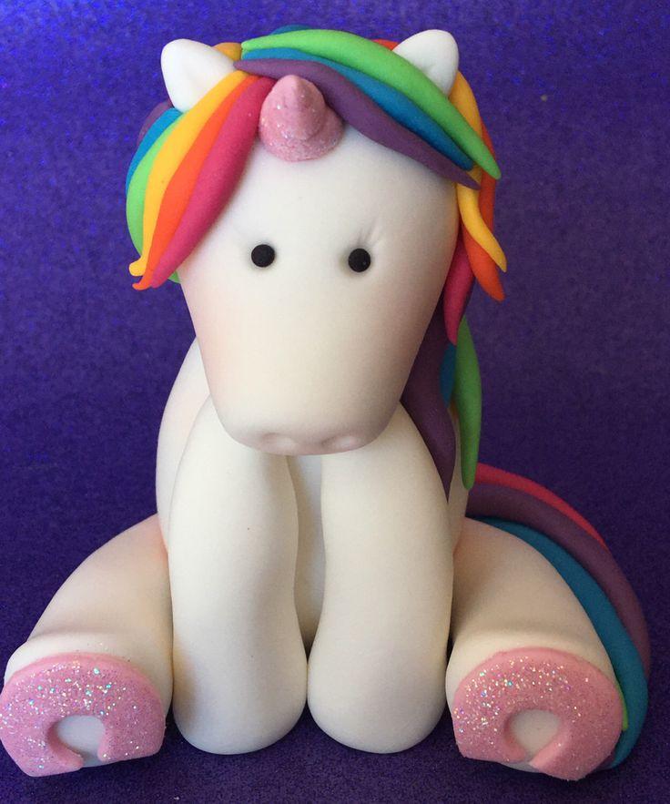 Edible 3D RAINBOW UNICORN cake topper. Birthday cake. First birthday. Baby shower. Kids cakes. Rainbow party. by SugarPopLane on Etsy https://www.etsy.com/au/listing/473610696/edible-3d-rainbow-unicorn-cake-topper