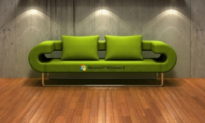 Windows 8, Green Couch (click to view)