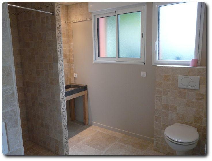 Best 25 salle de bain 6m2 ideas on pinterest petite - Implantation salle de bain 6m2 ...