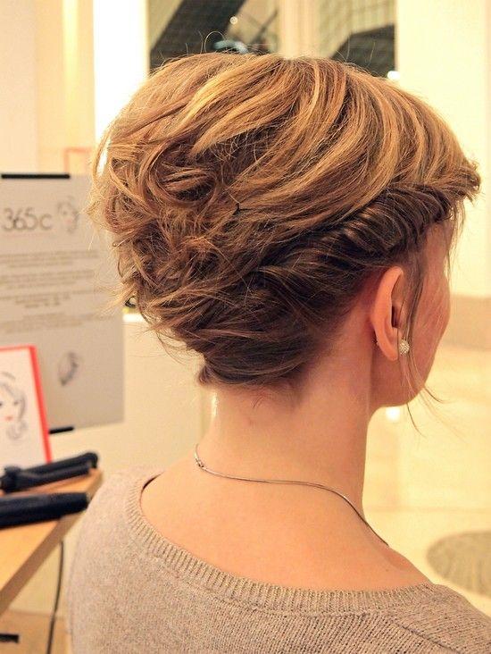 les 10 meilleures images propos de coiffures mariages cheveux courts sur pinterest coiffures. Black Bedroom Furniture Sets. Home Design Ideas