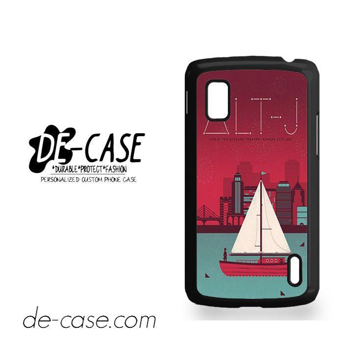 ALT-J ALT J Cover 1 For Google Nexus 4 Case Phone Case Gift Present YO