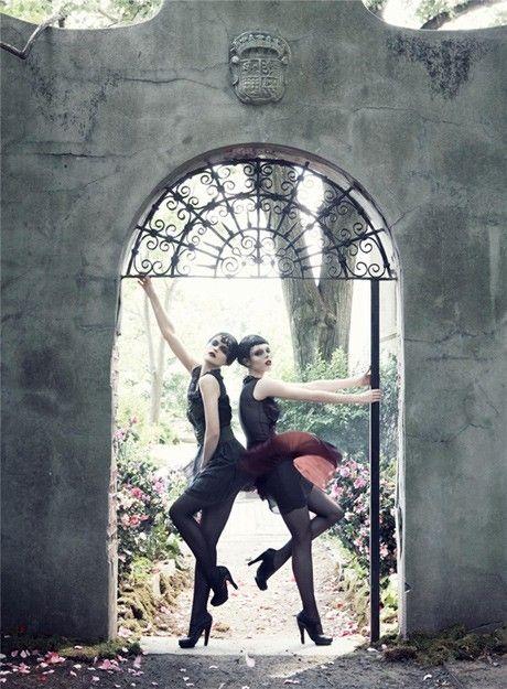 Steven Meisel -repinned by LA photography studio http://LinneaLenkus.com #portraitphotography