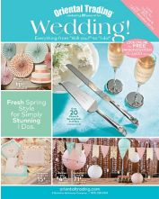 link to request a free wedding catalog for oriental trading