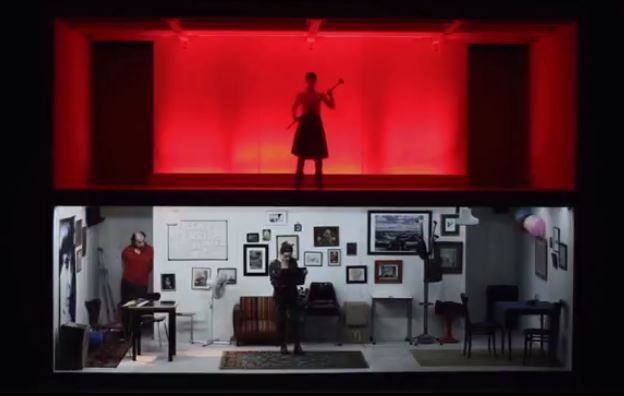 "Mariano Pensotti's ""Cineastas,"" part of the Under The Radar festival at the Public Theater, features a two-level set. Check out the 5 other festivals in New York in January 2015. Read here: http://livedesignonline.com/theatre/six-theatre-festivals-first-month-2015"
