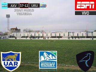 America Rugby Championship 2017 2º Fecha: Argentina XV 57-12 Uruguay