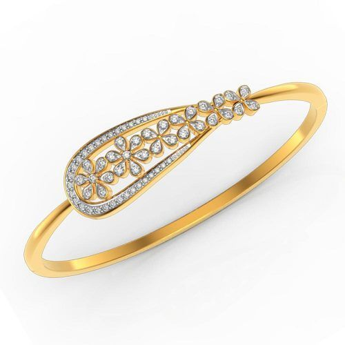 Ice Bug Diamond Gold Bracelet CJBR0152-Y  diamondbracelets ... dc3f986655f3