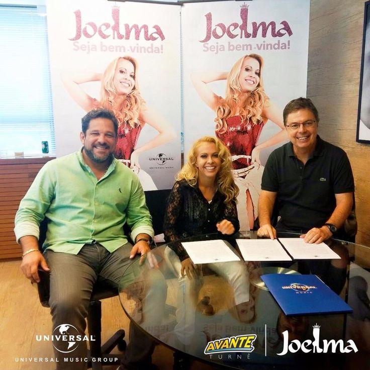 Joelma assina contrato com a Universal Music