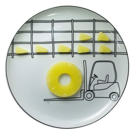BS Toy plates by Boguslaw Sliwiński
