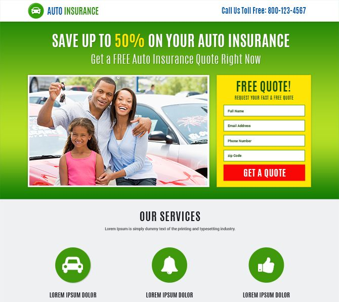 Auto insurance html website design template added to Buylandingpagesdesign.com Buylandingpagesdesign.com provides modern and converting auto insurance business lead capturing html website template design for creating your stunning website and capturing quality leads online.