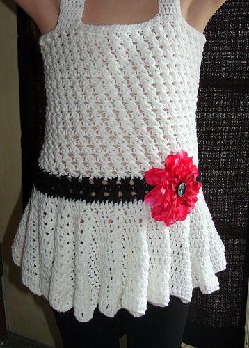 Ravelry: Stand Alone Girls Top pattern by Sheri Weber...free pattern!