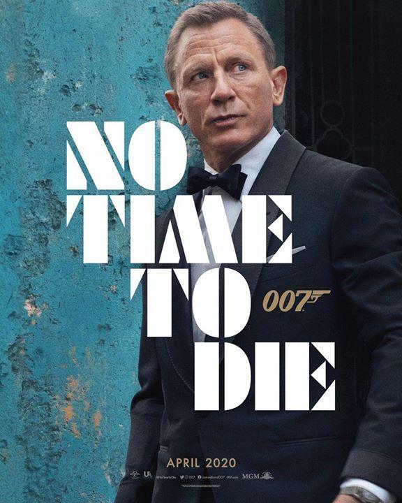 Primeiro Poster De 007 No Time To Die O Ultimo Filme De Daniel