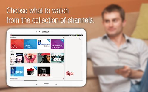 #Flipps App Stream Content from your Phone to your TV Seamlessly