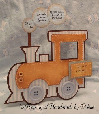 Baby Shower Invitations - Handmade by Odette, LLC
