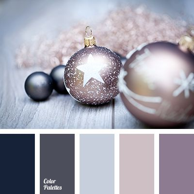 Color Palette #3176   grey lilac + navy or grey