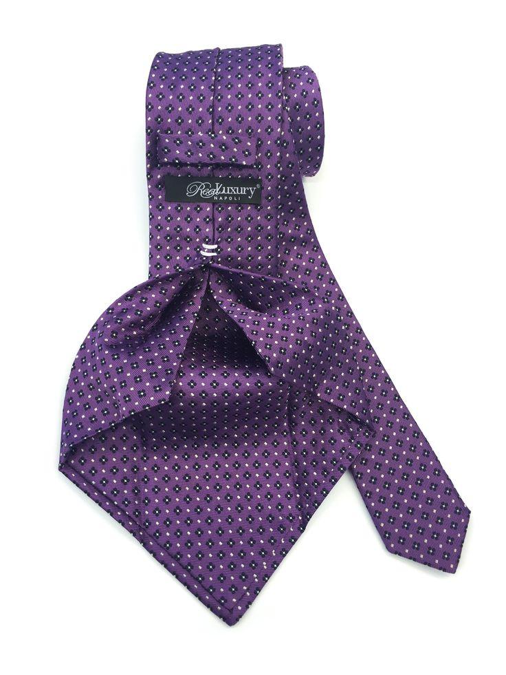 Cravatta 7 pieghe seta