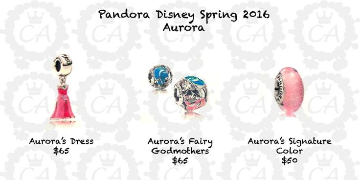 The Disney line has been incredibly popular at Pandora and I'm so excited to share, what I believe, is a complete preview of the upcoming Pandora Disney Spring 2016 Collection!  These charms will be available at all Pandora stores that are carrying the...