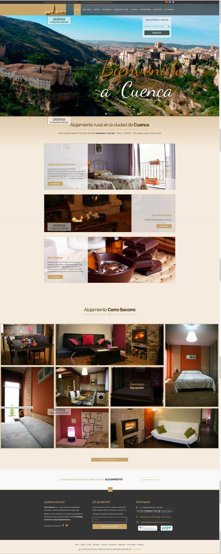 Os recomendamos la pagina de alojamiento cerro socorro si queréis quedaros un fin de semana en cuenca. http://www.alojamientocerrosocorro.com