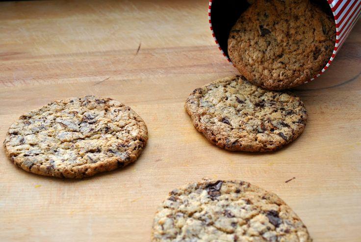 Káča v troubě: Émerické sušenky s kousky čokolády