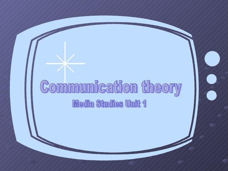 communication-theory by Travis via Slideshare