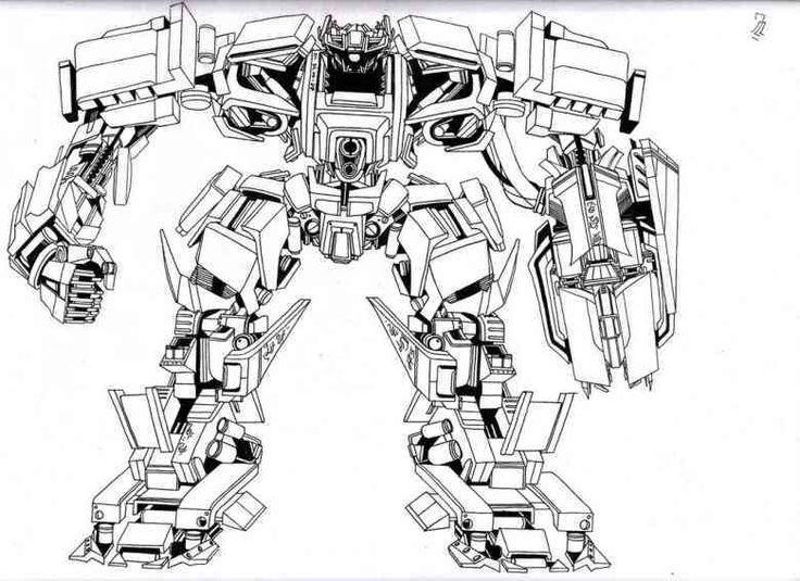 Ausmalbilder Transformers 01 Transformers Ausmalen