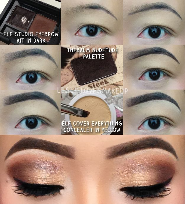 ELF EYEBROW KIT | Eyebrow tutorial using ELF's Studio Brow Kit, cheap but awesome!