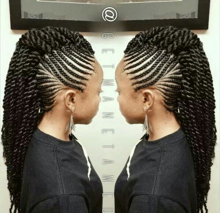 mohawk senegalese twist braids