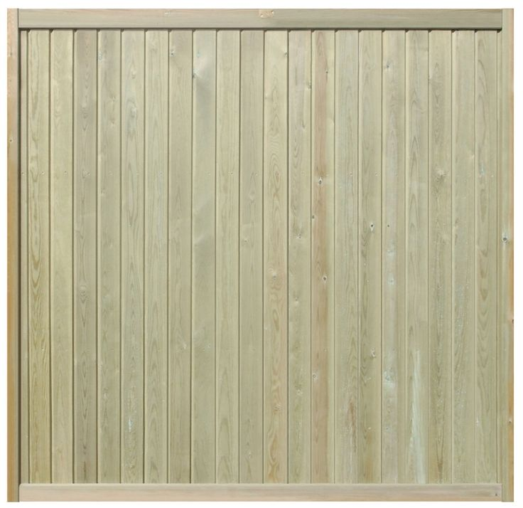 Fencing Panels Tongue & Groove Effect | Jacksons Fencing