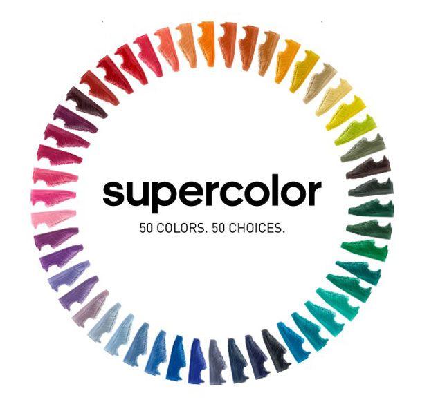 """Sneakers: """"Adidas Superstar Supercolor"""" - alle Farben des Regenbogens - BRIGITTE"""