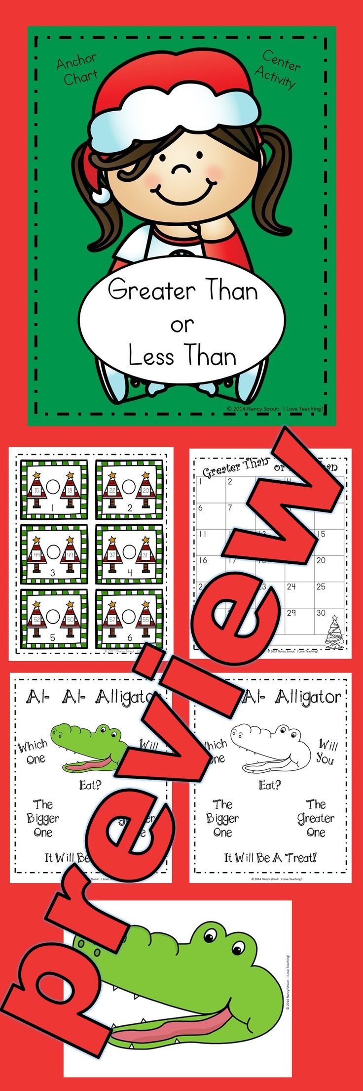 Place Value Anchor Chart and Christmas Task Cards! This unit is 25 pages long. Introduce Place Value with a fun song and then build an anchor chart together. Then follow up your lesson with task cards that they can do independently to practice this new skill. It includes: 60 Task Cards 2 Response Sheets A Place Value Song A Place Value Anchor Chart to Build With Your Class